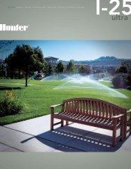 I-25 Brochure - Hunter Industries