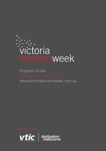 2012 program - Destination Melbourne