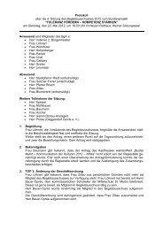 Protokoll über die 4. Sitzung des Begleitausschusses 2012 zum ...