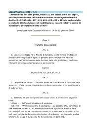 Legge 9 gennaio 2004, n. 6
