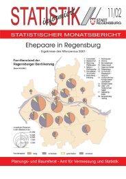 Ehepaare in Regensburg (11/02) - Statistik.regensburg.de - Stadt ...