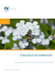 Zend-Catalogue-Formations-Printemps 2010