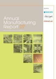 Annual Manufacturing Report 07 - The Manufacturer.com