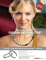 Magnetic Jewelry Brochure2 - Nikken Wellness Products & Nikken ...