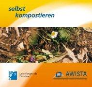"""Broschüre """"Selbst kompostieren"""" - Awista"""