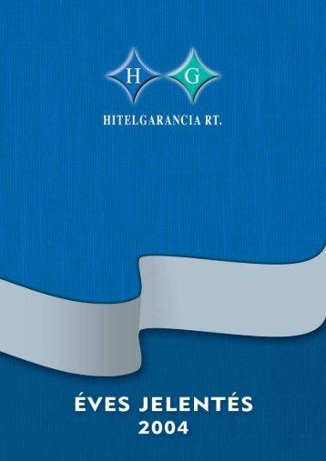 Éves jelentés 2004 (PDF)