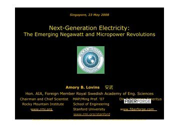 Next-Generation Electricity: - Energy Efficiency