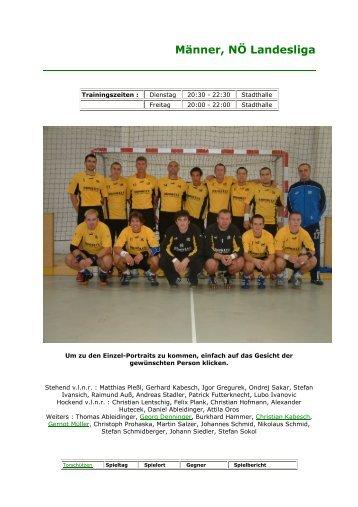 Spielberichte 06/07 - UHC Eggenburg