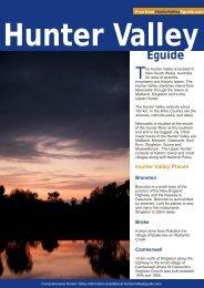 Hunter Valley eGuide - Travel Australia Guide