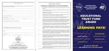 Application Form (PDF) - IWMA