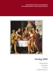 Verslag 2002 - Restitutiecommissie