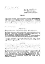 MD/34776-22/2011. – a Magyar Telekom Nyrt.-nek ... - Nemzeti Média