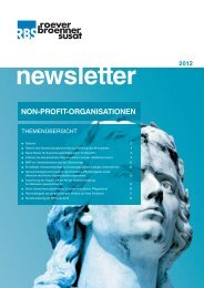 newsletter 2012 - RBS-Partner