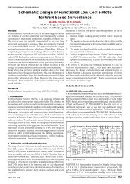 Schematic Design of Functional Low Cost i-Mote for WSN ... - iject