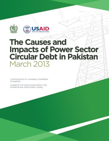 The Causes and Impacts of Power Sector Circular Debt ... - Pc.gov.pk
