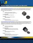 Clutch Pulley - WAIglobal - Page 2