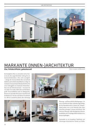 Markante (Innen-)archItektur - CUBE Magazin