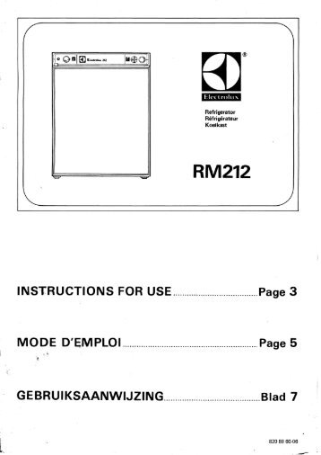 1 2 Trio Awning Erection Instructions Thomson Caravans