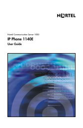 About the Nortel IP Phone 1140E - Globe Systems ApS
