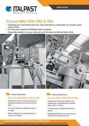 Pressa MAC 600 VRC & VRL - Italpast