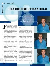 PERSONAGGI Claudio Mistrangelo - Freepressmagazine.it