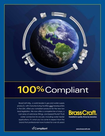 100%compliant - BrassCraft