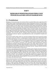 bab v kebijakan desentralisasi fiskal dan pengelolaan keuangan