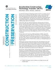 California - AASHTO Technology Implementation Group - American ...