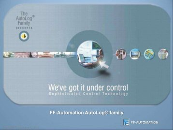 FF-Automation AutoLog® family