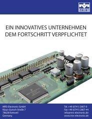 MRS Electronic GmbH: Katalog Kfz/ Nutzfahrzeug-Produkte