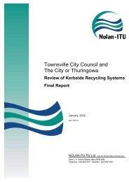 Nolan ITU Final Report - Townsville State of the Environment Report
