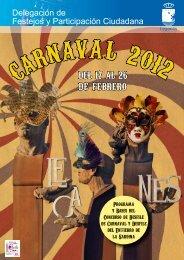 Programa de Carnaval 2012 - Ayuntamiento de Leganés
