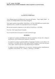 GC 157.pdf - PRELIEVO DAL FONDO DI RISERVA - Comune di ...
