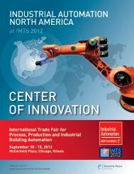 center oF InnoVatIon - National Fluid Power Association