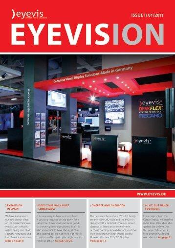 EYEVISION Issue II 01/2011 - Eyevis Gmbh