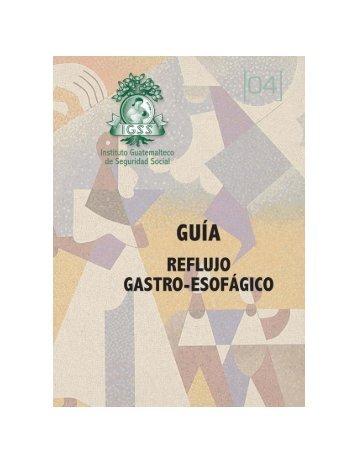 manejo del paciente con enfermedad - Instituto Guatemalteco de ...