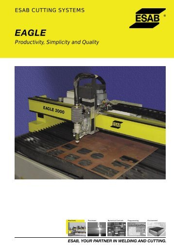 ESAB CUTTING SYSTEMS Productivity, Simplicity and ... - imosdg.ro