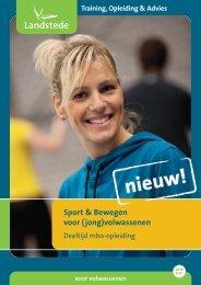2012017 Landstede flyer Sport & Bewegen volwassenen:Landstede ...