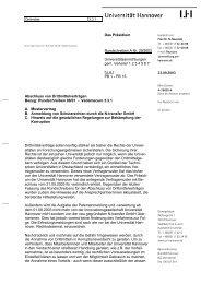 Drittmittelverträge - TCI @ Uni-Hannover.de