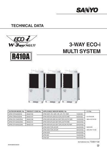 3-WAY ECO-i MULTI SYSTEM