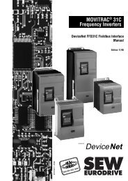 09196617.pdf - SEW Eurodrive