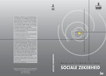 Nummer 3/2009 - FOD Sociale Zekerheid