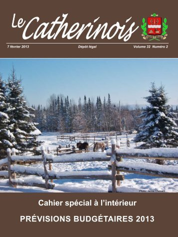 Février 2013 - Ville de Sainte-Catherine-de-la-Jacques-Cartier