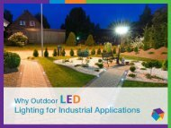 Benefits of Industrial Outdoor LED Lighting Solutions