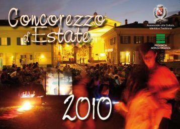 Scarica il Programma completo degli eventi - Provincia di Monza e ...