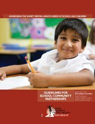 Guideline Tools - Illinois Children's Mental Health Partnership