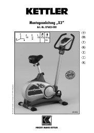 "Montageanleitung ""X3"" Art.-Nr. 07683-000 - Fahrrad Kaiser GmbH"