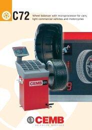 CEMB C72 Wheel Balancer