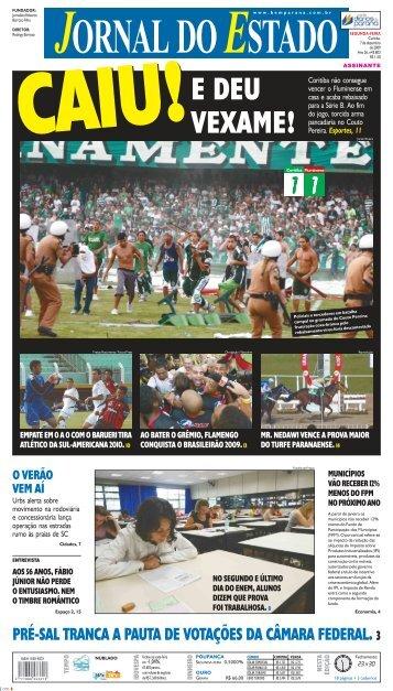 pré-sal tranca a pauta de votações da câmara federal. 3 - Bem Paraná