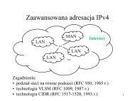 Adresacja cz.2 (M. Libuda)